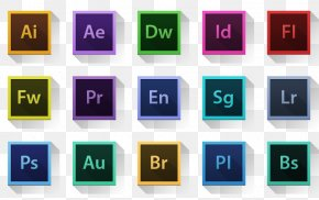 Adobe's Software Icon - Template Infographic Icon PNG