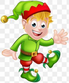 Elf Transparent Clip Art Image - Santa Claus Christmas Elf Clip Art PNG
