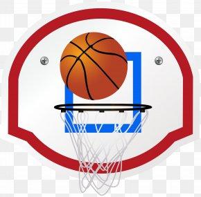 Basketball Hoop Clip Art Image - Backboard Basketball Football Clip Art PNG