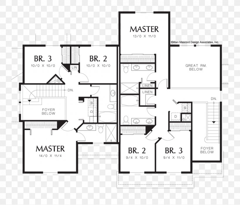 Floor Plan House Plan Storey, PNG