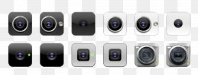 Cell Phone Camera Icon - Video Camera Camera Phone Icon PNG