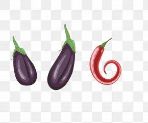 Vegetables Eggplant Cartoon Chili - Chili Con Carne Vegetable Eggplant PNG