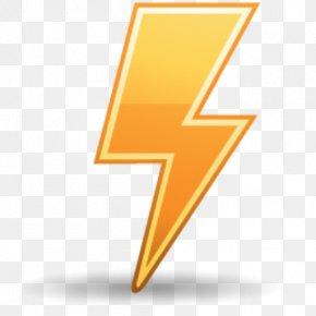 Thunder Icon - Computer File MacOS Logo PNG
