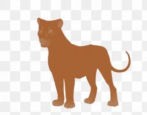 Brown - Lion Cat Tiger Cougar Mammal PNG