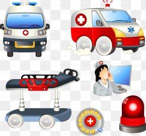 Vector Ambulance - Ambulance Royalty-free Euclidean Vector Icon PNG