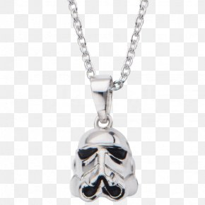 Stormtrooper - Charms & Pendants Jewellery Necklace Earring Silver PNG
