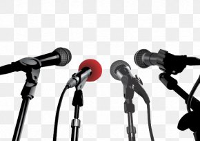Microphone - Microphone News Conference Stock Photography Illustration PNG