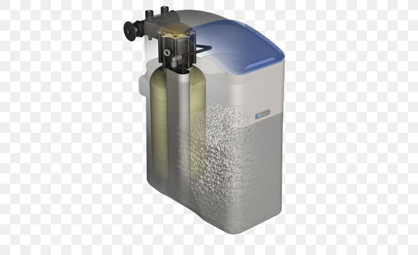 Water Softening Kinetico Water Purification Water Supply Network, PNG, 500x500px, Water Softening, Cylinder, Drinking Water, Hard Water, Hardware Download Free