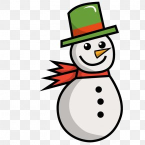 Vector Winter Snowman - Snowman Winter Euclidean Vector PNG