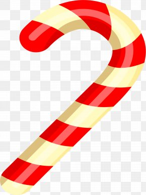 Colorful Walking Stick Candy - Candy Cane Stick Candy Walking Stick PNG
