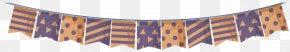 Vector Flag Ribbon - Halloween Euclidean Vector Party PNG