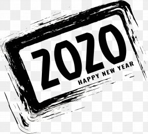 Logo Text - 2020 Happy New Year 2020 Happy New Year PNG