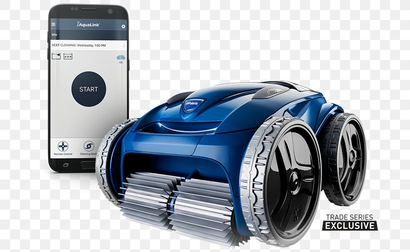 Automated Pool Cleaner Swimming Pool Robotic Vacuum Cleaner ...