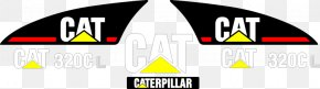 Caterpillar Logo - Caterpillar Inc. Komatsu Limited Logo Decal Sticker PNG