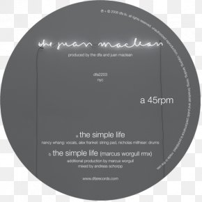 A Simple Life Of Plain Living - DFA Records Record Label Musician LCD Soundsystem Sonic Life EP PNG
