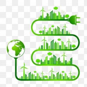 City Energy Saving - Nature Ecology Clip Art PNG