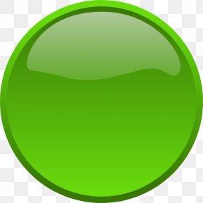 Button - Button Green Clip Art PNG