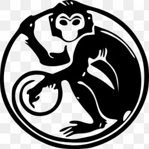 Monkey - Monkey Chinese Zodiac Symbol Astrological Sign Chinese Calendar PNG
