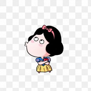 Cartoon To Snow White - Snow White Cartoon Cuteness PNG