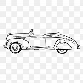 Automotive Artwork - Vintage Car PNG