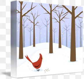 Forest Snow - Snow Tree PNG
