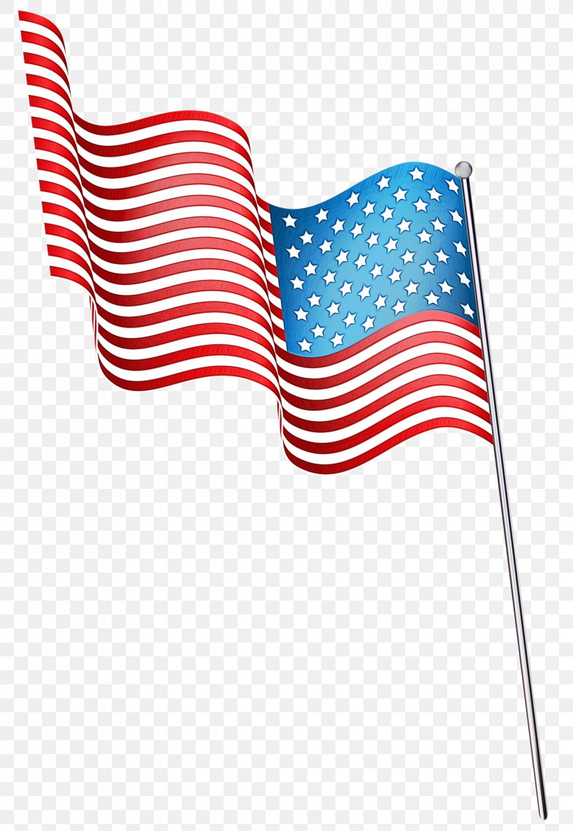 Flag Flag Of The United States Line Clip Art, PNG, 2066x3000px, Watercolor, Flag, Flag Of The United States, Paint, Wet Ink Download Free