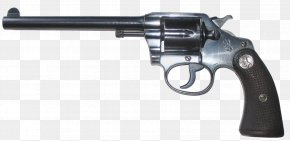 Hand Gun - Colt Police Positive Special Colt Official Police Revolver Colt's Manufacturing Company PNG