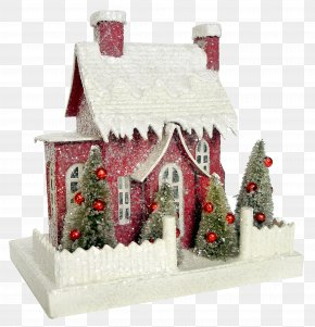 House - Gingerbread House Christmas Day Christmas Village Christmas Decoration PNG