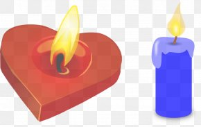 Fire Flame - Birthday Candle PNG