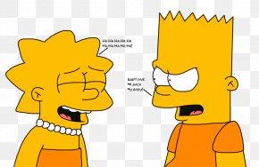 Bart Simpson - Lisa Simpson Bart Simpson Homer Simpson Mona Simpson Marge Simpson PNG