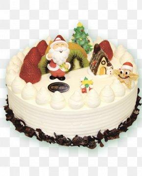 Christmas Cake Poster Image PNG