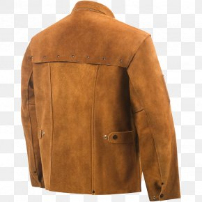 Jacket - Leather Jacket Coat Leather Jacket Sleeve PNG