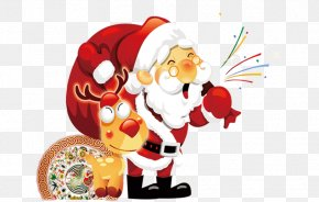 Santa Claus - Happiness Christmas Feliz Navidad Love Wish PNG