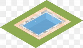 Swimming Pool - Swimming Pool Flat Design PNG