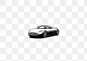 Car - Car Black And White Automotive Design Brand PNG