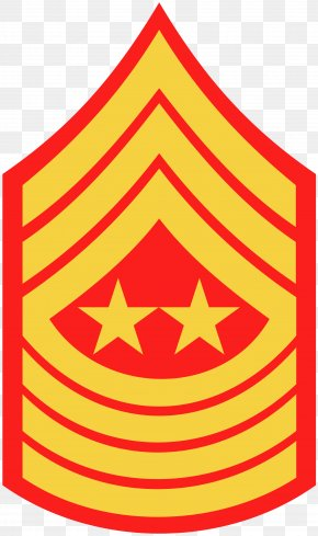 Hammer And Sickle - Sergeant Major Of The Marine Corps United States Marine Corps Rank Insignia Master Gunnery Sergeant PNG