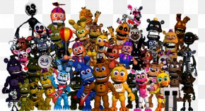 Animatronic Five Nights At Freddy's - Five Nights At Freddy's 4 FNaF World Five Nights At Freddy's 3 Five Nights At Freddy's 2 Five Nights At Freddy's: The Silver Eyes PNG