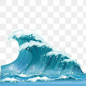 Wave Vector Material - Wind Wave Clip Art PNG