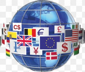 Foreign Trade - Globe World Earth Flag United States PNG
