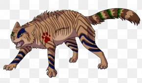 Painted Cat Claw - Cat Tiger Mammal Animal Carnivora PNG