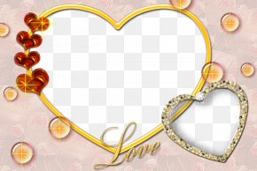 Heart Love Photoshop Background Png - Valentine's Day Love Romance Message Wish PNG