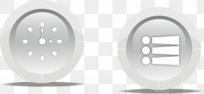 Time Button - Designer Cartoon PNG