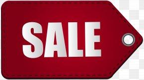 Red Sale Tag Transparent Clip Art Image - Sales Clip Art PNG