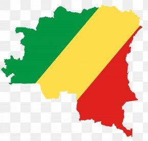 Map - Democratic Republic Of The Congo Congo River Map PNG