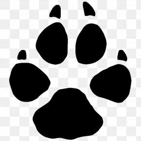 Dog - Cougar Dog Cat Paw Clip Art PNG