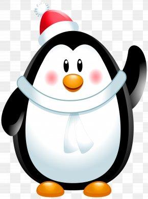 Christmas Penguin Clip Art Image - Penguin Clip Art PNG