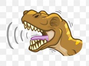 Dinosaur - Tyrannosaurus Dinosaur Roar Clip Art PNG