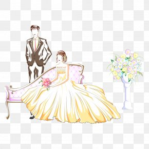 Wedding - Wedding Photography Cartoon Marriage Illustration PNG