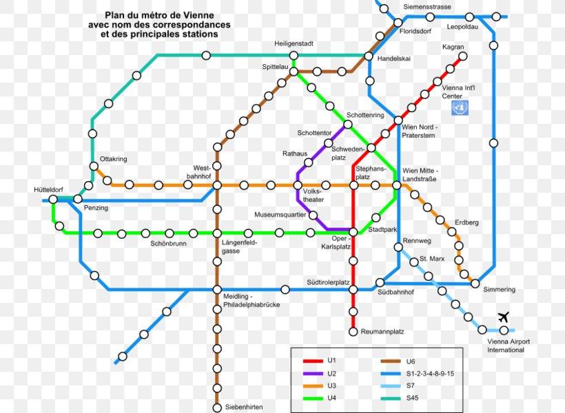 Wien u bahn map