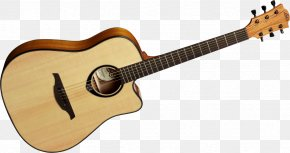Picture Of Guitars - Steel-string Acoustic Guitar Lag Dreadnought PNG